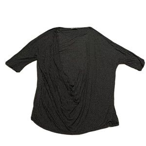 Alembika Ruched Front Detail 3/4 Sleeve Tunic